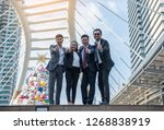 business person  thumbs up | Shutterstock . vector #1268838919