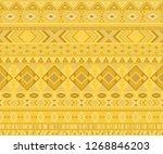 peruvian american indian... | Shutterstock .eps vector #1268846203