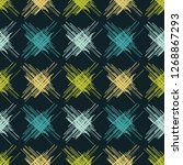 seamless pattern of scrawl.... | Shutterstock .eps vector #1268867293