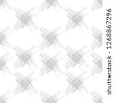 seamless pattern of scrawl.... | Shutterstock .eps vector #1268867296