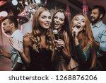cheerful. smile. smiling girl....   Shutterstock . vector #1268876206
