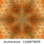 symbol  of  winter  merry...   Shutterstock . vector #1268878009
