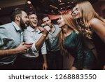 duet. trendy nightclub. have...   Shutterstock . vector #1268883550