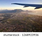 aerial view of table mountain... | Shutterstock . vector #1268923936