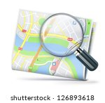 vector illustration of travel... | Shutterstock .eps vector #126893618