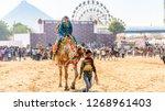 pushkar  india   november 23 ... | Shutterstock . vector #1268961403