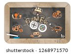 """""""gamer"""" word with 3d icons and... 