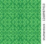 japanese kimono vector seamless ... | Shutterstock .eps vector #1268987413