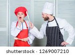 couple compete in culinary arts.... | Shutterstock . vector #1269007210