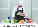 improve cooking skill. book... | Shutterstock . vector #1269007216