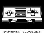 controller gamepad buttons | Shutterstock .eps vector #1269016816