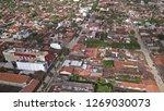 aerial views of trinidad in... | Shutterstock . vector #1269030073