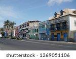 mindelo  cape verde   october... | Shutterstock . vector #1269051106