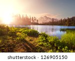 picture lake | Shutterstock . vector #126905150