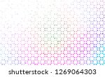 light multicolor  rainbow... | Shutterstock .eps vector #1269064303