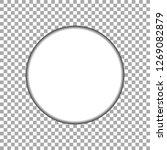 vector paper circle sticker... | Shutterstock .eps vector #1269082879
