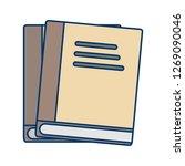 vector books icon    Shutterstock .eps vector #1269090046