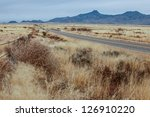 Dry Tumbleweed And Grasslands...