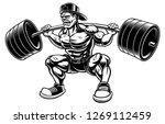 vector illustration of... | Shutterstock .eps vector #1269112459