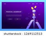 financial leadership   modern... | Shutterstock .eps vector #1269112513
