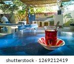 turkish tea in traditional tea... | Shutterstock . vector #1269212419