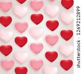 valentine's day love and... | Shutterstock .eps vector #1269212899