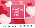 valentine's day love and... | Shutterstock .eps vector #1269226129