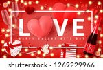 festive banner for happy... | Shutterstock .eps vector #1269229966