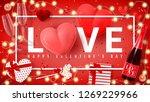festive banner for happy... | Shutterstock .eps vector #1269229966