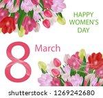 march 8 international women's...   Shutterstock . vector #1269242680