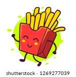 vector illustration of happy... | Shutterstock .eps vector #1269277039