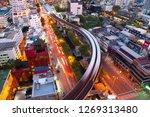bangkok bts skytrain with...   Shutterstock . vector #1269313480