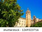 valencia plaza de la reina... | Shutterstock . vector #1269323716