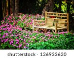 Bamboo Chair In The Park