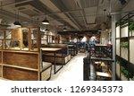 3d render of restaurant cafe | Shutterstock . vector #1269345373