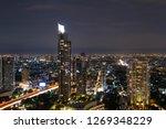 bangkok city skyline metropolis ...   Shutterstock . vector #1269348229