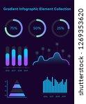 modern modern infographic... | Shutterstock .eps vector #1269353620