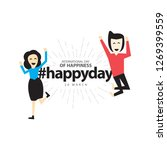 international day of happiness... | Shutterstock .eps vector #1269399559