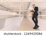 asian executive engineer in... | Shutterstock . vector #1269425086