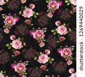 Rose Flower Digital With...