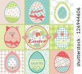 easter illustration | Shutterstock .eps vector #126944606