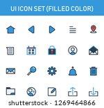 ui icon set fill outline