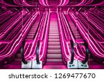 public hotel elevator | Shutterstock . vector #1269477670