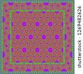 flower vector paper for... | Shutterstock .eps vector #1269482626
