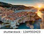 Photo Shows Sunrise At Croatia...