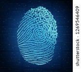 artificial intelligence ai... | Shutterstock . vector #1269546409