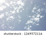 sky with clouds | Shutterstock . vector #1269572116