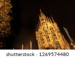 night shot of part of the old... | Shutterstock . vector #1269574480