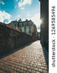 historic street rennes ... | Shutterstock . vector #1269585496