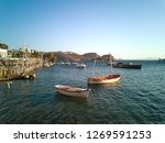 summer life in gumusluk  bodrum ...   Shutterstock . vector #1269591253